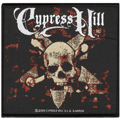 Cypress Hill - Skull & Crossbones Patch