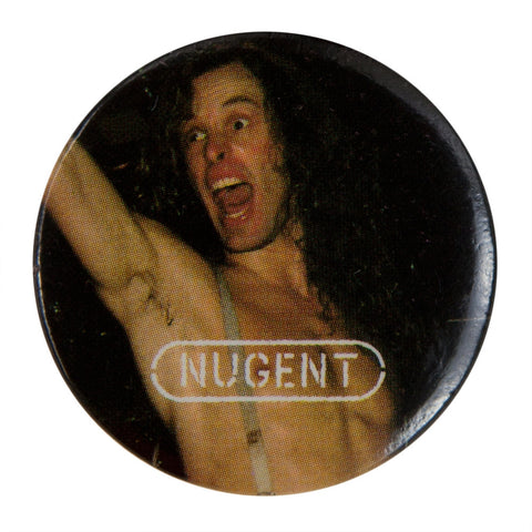 Ted Nugent - Logo - Button