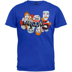 Maroon 5 - Cartoon Logo Soft T-Shirt