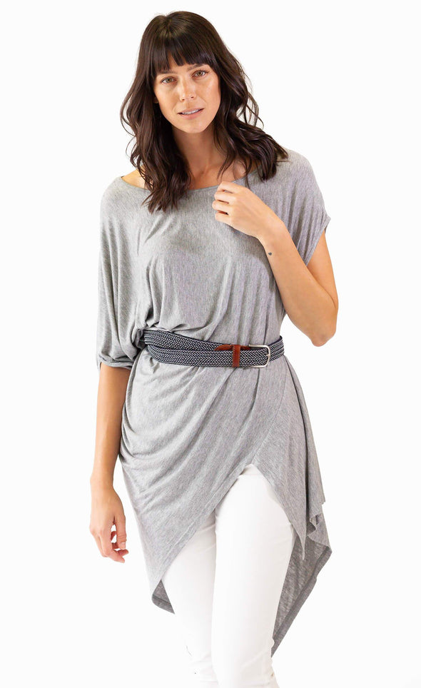 The Greek Top Grey