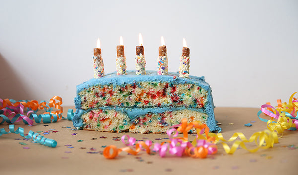 Sing Happy Birthday With Funfetti Birthday Cake