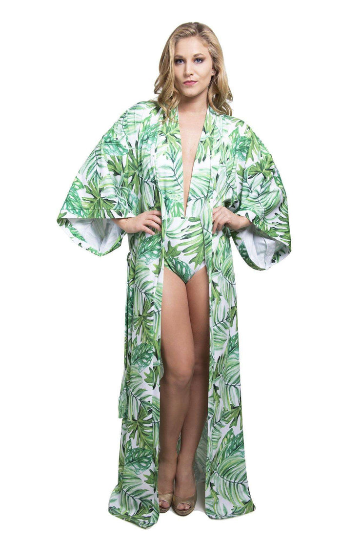 Tropical Green Bathingsuit