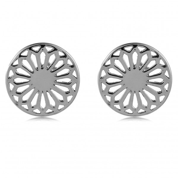 Southern Gates Collection Classic Series Cathedral Scroll Post Earrings