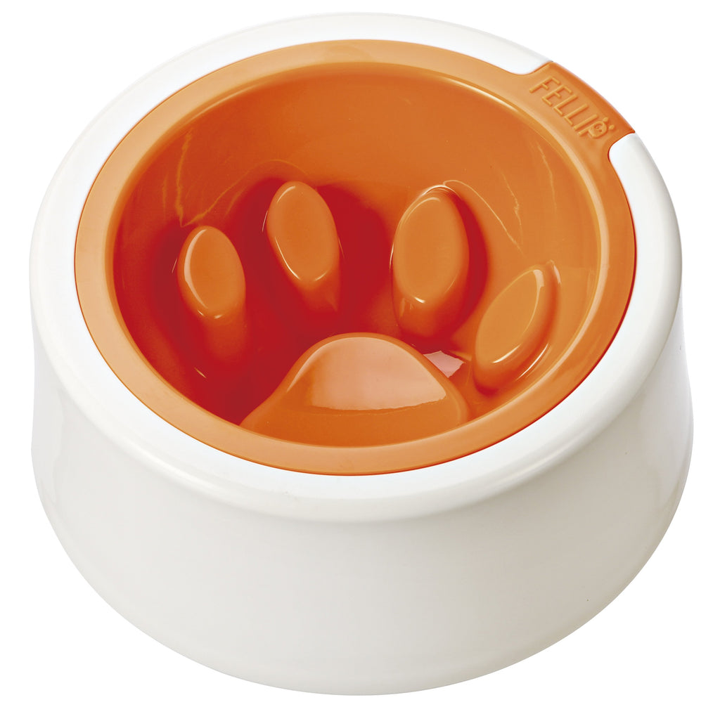 FelliP Citrus Kaleido Good Manners Cat Bowl