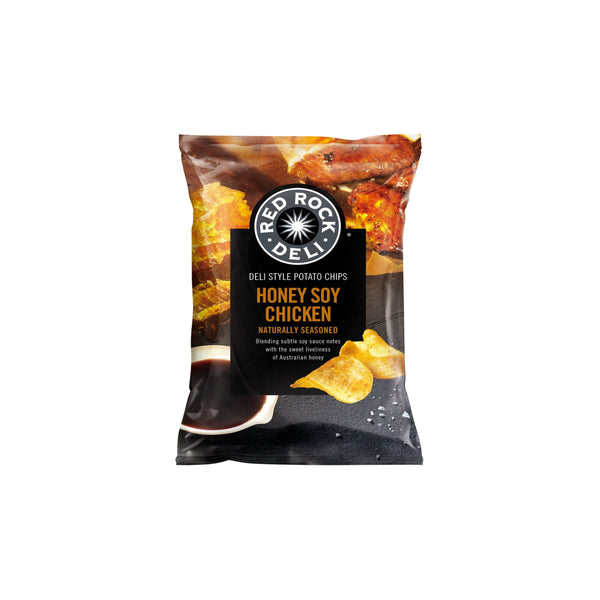 Red Rock Deli Chips - Honey Soy Chicken 165g