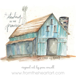"Barn ""Standing on The Promises"""