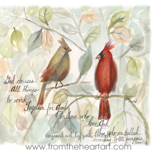 Cardinal Couple {Romans 8}