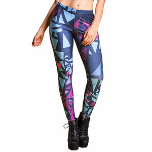 Ladies Full Colour Sexy High Performance Leggings