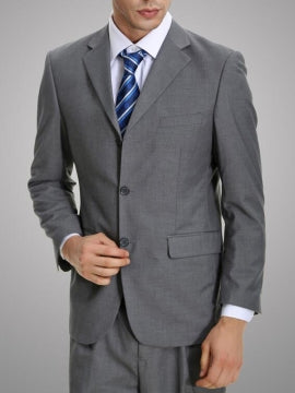 Formal Men's Business Suit with Single Breasted