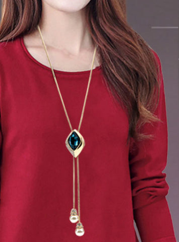 High Quality Elegant  Long Necklace