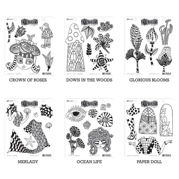Dylusions Stamp Sets by Ranger