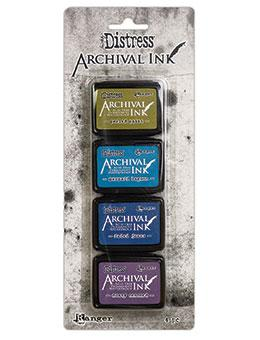 Tim Holtz® Distress Mini Archival Ink™ Kit #2