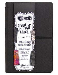 Dylusions Creative Small Black Journal