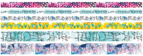 Dina Wakley Media Washi Tape #1
