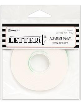 Letter It™ White Foam Roll Tape