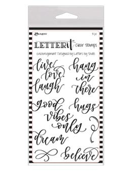 Letter It™ Clear Stamp Set - Encouragement