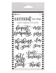 Letter It™ Clear Stamp Set - Occasions