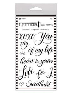 Letter It™ Clear Stamp Set - Sweetheart
