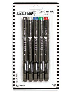 Letter It™ Classic Fineliner Pens (5 Pack)