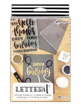 Letter It™ Embossing Kit