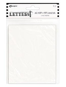 Letter It™ White Cardstock 4.25 x 5.5, 12PCS