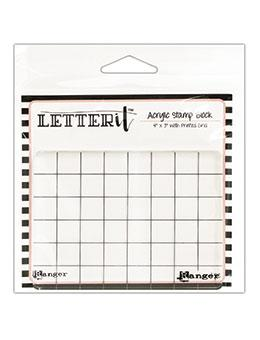 Letter It™ Acrylic Stamping Block