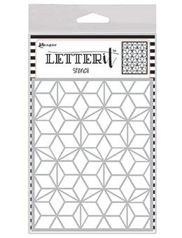 Letter It™ Background Stencil Puzzled Mosaic