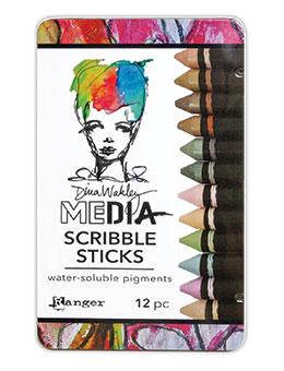 Dina Wakley Media Scribble Sticks #3