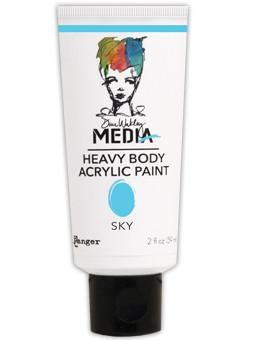 Dina Wakley Media Acrylic Paint Sky, 2oz
