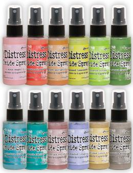Tim Holtz Distress® Oxide® Ink Spray 12pk #2