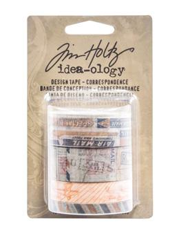 Tim Holtz® Idea-ology Paperie - Design Tape - Correspondence