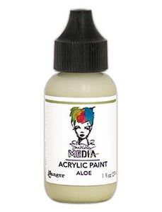 Dina Wakley Media Heavy Body Acrylic Paint Aloe, 1oz