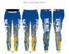 North Carolina A&T State Splat Leggings - 3 week delivery made to order