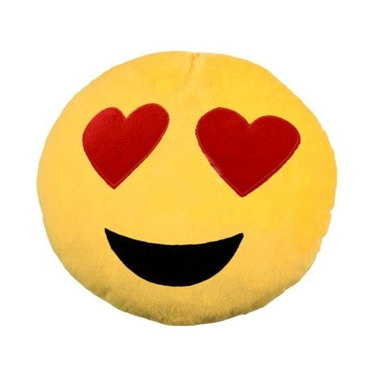 emoji blazina in love s srčki