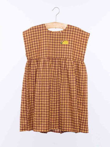 Dulcie Dress - Yellow Check