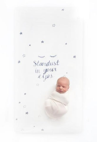 Stardust Crib Sheet from Coveted Things