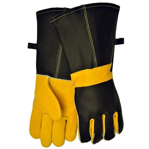 Premium Leather BBQ Gloves