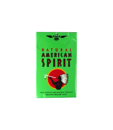 American Spirit Menthol Light (Lime Box) - Pink Dot