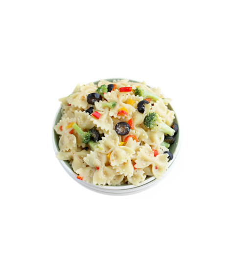 Bowtie Pasta Side Salad - Pink Dot