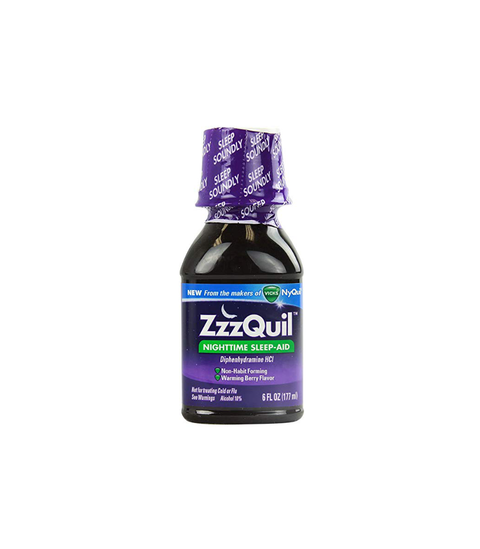 Nyquil Liquid - ZzzQuil - Pink Dot