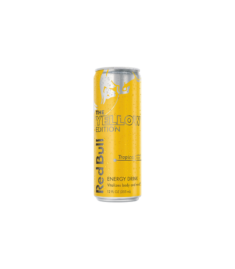 Red Bull Yellow Edition - Tropical - Pink Dot