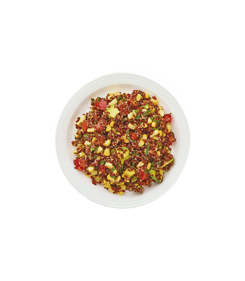 Red Quinoa Salad - Pink Dot
