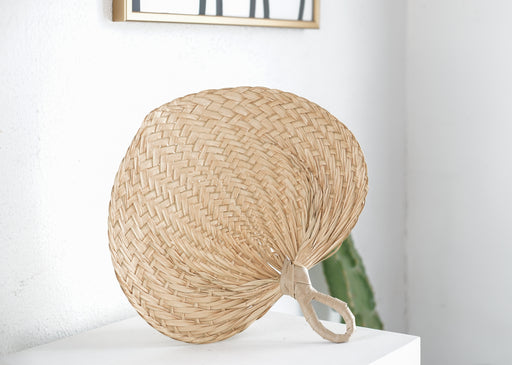 market find - Philippines - Unravel Co - Large Handwoven fan