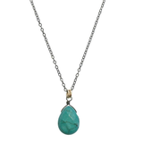 Stella Necklace in Large Turquoise