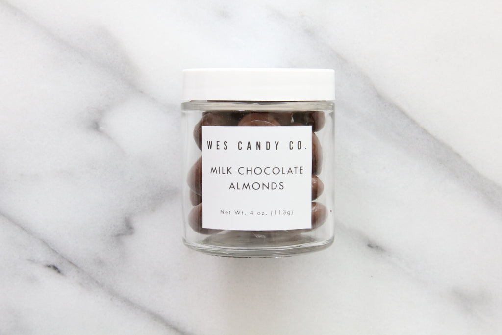 Milk Chocolate Covered Almonds (4oz.)