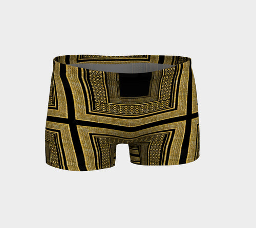 Gold Foil Frame Shorts