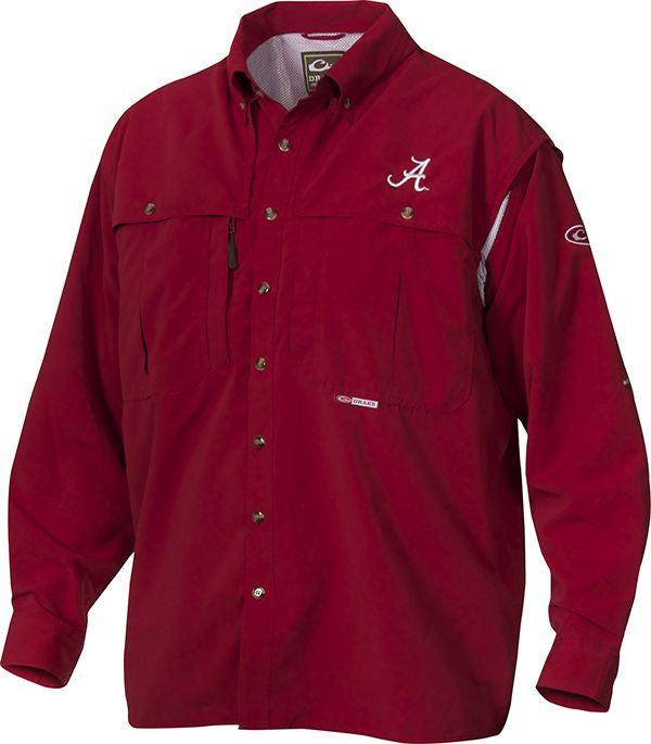 Drake Alabama L/S Wingshooter's Shirt