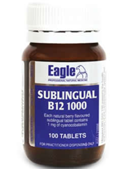 Eagle Sublingual B12 1000mcg