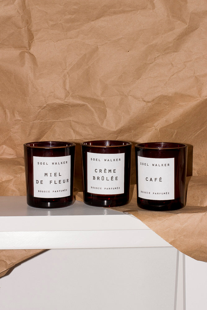 TRIO CANDLE SET