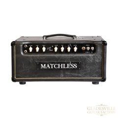 Matchless HC30R 30W Reverb Head Black /Gold
